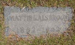 Mattie L <i>Starr</i> Alsbrook
