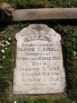 Emma Mary <i>Fair</i> Azbell