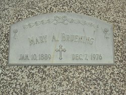 Mary A. <i>Martin</i> Bruening