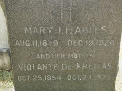 Mary J.F. <i>DeFreitas</i> Ables