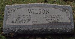 Emily <i>Sharp</i> Wilson