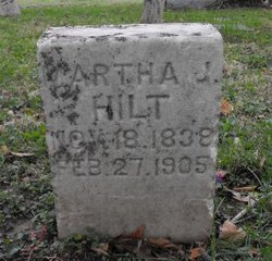 Martha Jane <i>Owen</i> Hilt
