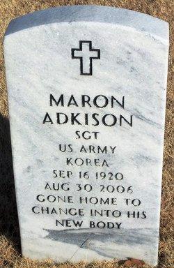 Sgt Maron Adkison