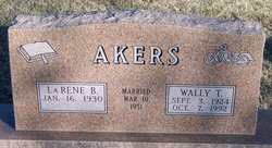Wally T Akers