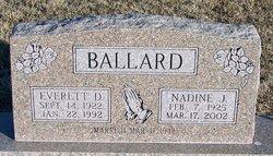 Nadine J Ballard
