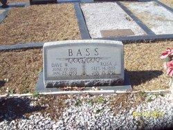 Dave W. Bass