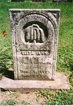 Eliza Ann <i>Schenck</i> Amerman