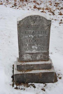 Elizabeth <i>Moul</i> Becker