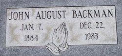 John August Backman