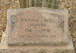 Johnnie Lavell Maners
