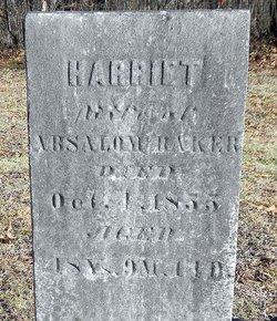 Harriet Jane <i>Gentry</i> Baker