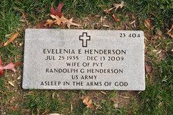 Evelenia E <i>Washington</i> Henderson
