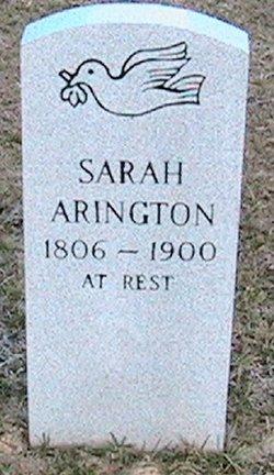 Sarah <i>Edwards</i> Arington