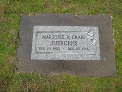 Mrs Marjorie Ruth Marge <i>Muir</i> Juergens