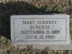 Mary <i>Godfrey</i> Burgess