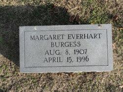 Margaret Everhart Burgess