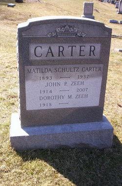 Matilda <i>Schultz</i> Carter