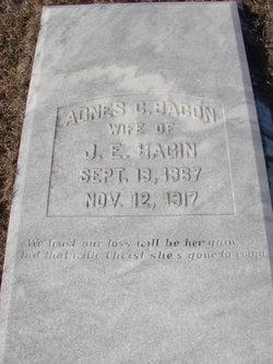 Agnes C <i>Bacon</i> Hagin