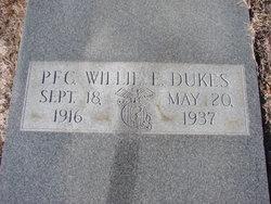 PFC Willie E Dukes