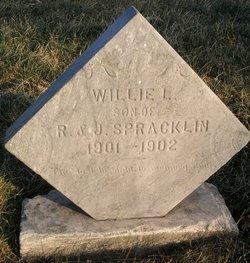 Willie L Spracklin