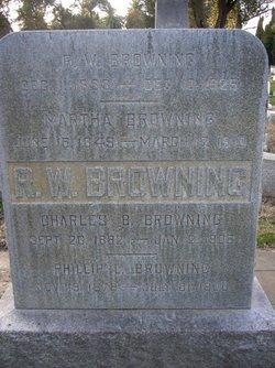 Martha <i>Kincheloe</i> Browning