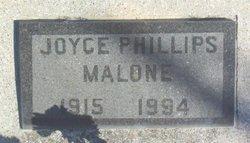 Joyce <i>Phillips</i> Malone