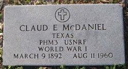 Claud Edward McDaniel