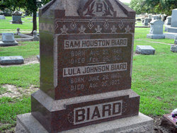 Lula <i>Johnson</i> Biard