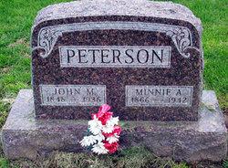 Minnie Alace <i>Putney</i> Peterson