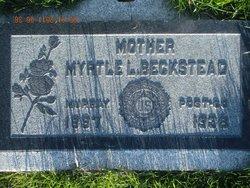 Myrtle Lorina <i>Reed</i> Beckstead
