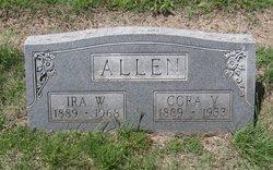 Cora Viola <i>Furnish</i> Allen