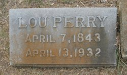 Mary Lucinda Lou <i>Valentine</i> Perry