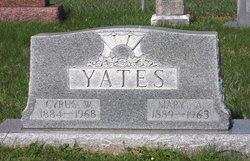 Mary Alice <i>Bogard</i> Yates