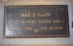 Max G Allen