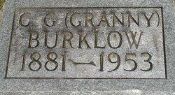 C. G.(Granny) Burklow