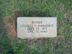 Charles Edwin Parkhurst