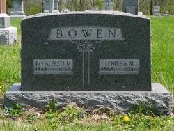 Rev Alfred M. Bowen