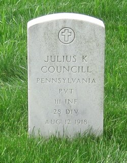 Pvt Julius K Councill