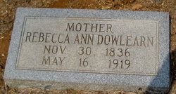 Rebecca Ann Becky <i>Meeks</i> Dowlearn