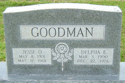 Delpha Elizabeth <i>Tubb</i> Goodman