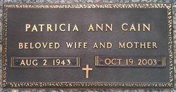 Patricia Ann <i>Arant</i> Cain
