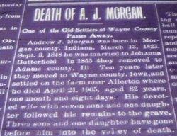 Andrew Jackson Morgan