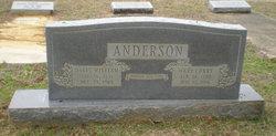 Mary <i>Curry</i> Anderson