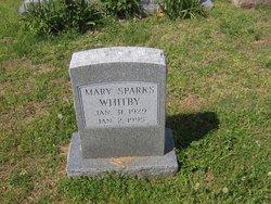 Mary <i>Sparks</i> Whitby