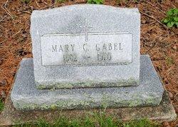 Mary C <i>Minch</i> Gabel