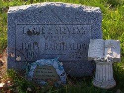 Larue F. <i>Stevens</i> Barthalow