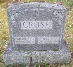 Mildred E. Cruse