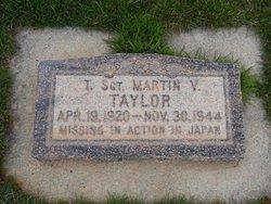 Sgt Martin V Taylor
