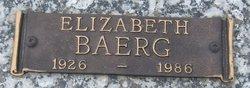 Elizabeth <i>Heinrichs</i> Baerg