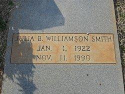 Julia B. <i>Williamson</i> Smith